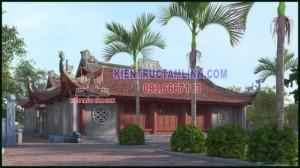 Các mẫu thiết kế thi công Đình, Chùa, Đền thờ
