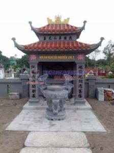 Mẫu thiết kế Lăng mộ gia đình ông Dũng - Hà Nam