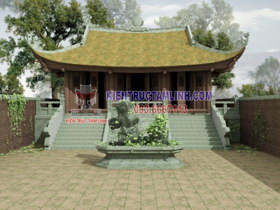 Mẫu thiết kế thi công Nhà thờ họ Lê – Nam Định