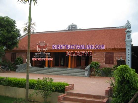 Thiết kế nhà thờ họ Phạm - Thái Nguyên