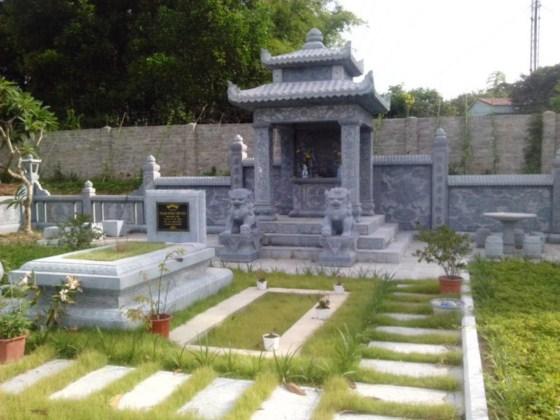 Mẫu thiết kế khuôn viên Lăng mộ gia đình Họ Phạm – Thái Nguyên