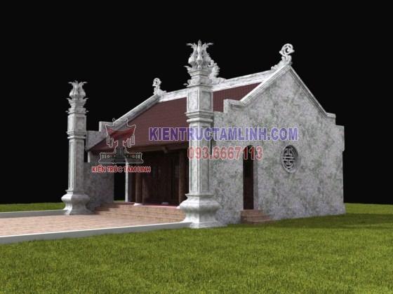 Thiết kế nhà thờ họ Lưu – Thanh Hóa