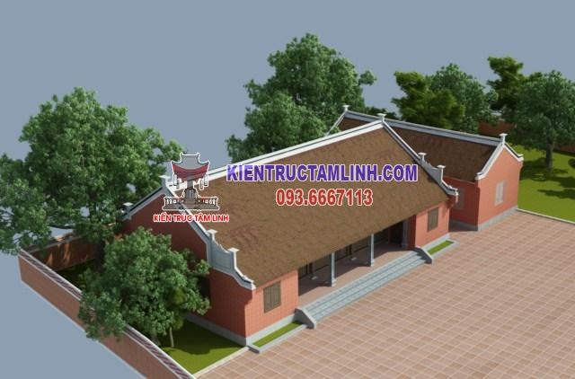 Thiết kế Nhà thờ họ Nguyễn - Bắc Ninh
