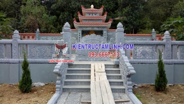 Thiết kế Khu lăng mộ Gia Đình ở Bắc Ninh