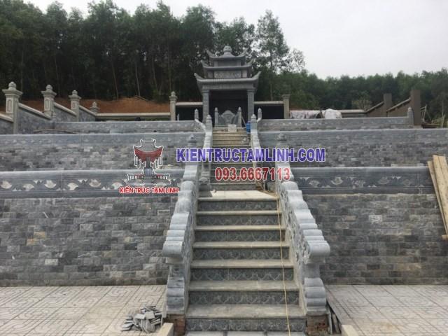 Thiết kế Khu Lăng Mộ Đá Gia Đình Họ Cao ở Nghệ An